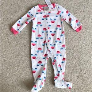 Baby Gap Girls Disney Fleece Onesie Sleeper